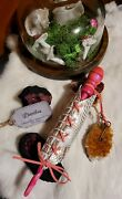 Dianthus Wand Halloween Witch Wizard Wiccan Magicka Magic Fantasy