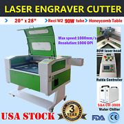 500mmx700mm Reci 90w Co2 Laser Engraver Cutter With Double Side Open Door Fda