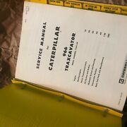 Caterpillar Cat 966 Traxcavator Tractor Service Manual S/n 75a1-up Used