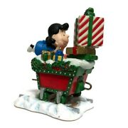 Danbury Mint Peanuts Christmas Train - Lucy Train Car Replacement Piece Only