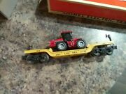 Lionel Flat Car With Tractor 6461 - Comes With Empty Box