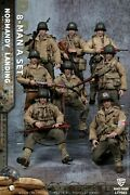 112 Crazy Figure 8pcs Wwii U.s. Army Soldier Action Figure Collectible
