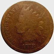 1878 Indian Head Penny Cent Good Condition Mc_321
