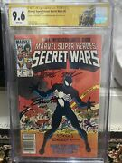 Cgc Ss 9.6 Marvel Super Heroes Secret Wars 8 Signed 3x Zeck, Beatty And Shooter