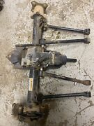06 Arctic Cat 400 4x4 Complete Rear End Assembly Rear Diff Hubs Axles Tubes