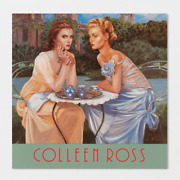 1992 Catalogue Rare Collectible Book Of Images By Colleen Ross