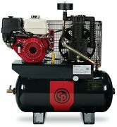 Cp Rcp-1330g 13hp Honda Gas 30 Gallon 25.3cfm 2 Stage Contractor Air Compressor