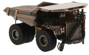For Cat 797f Mining Truck Copper Plated 1/125 Diecast Model Finished Car Truck