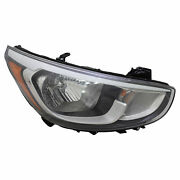 Right Side Halogen Headlight For Hyundai Accent Halogen 2015-2016 Free Shipping