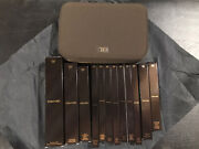 Rare Tom Ford Discontinued Natural Hair Brush Set 12 Brushes With Case Nib