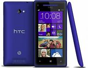 Htc Windows Phone 8x 16gb Blue Verizon - Partially Functional - With Extra Lcd