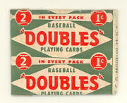 1951 Topps Redbacks Pack Open Eddie Robinson Card 51 Dale Mitchell Card 13 553