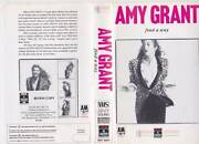 Amy Grant Find A Way Vhs Video Pal A Very Rare Find