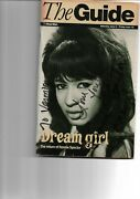 Ronnie Spector Hand Signed The Guide On Front Page With A Picture Of Her.