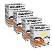 Genultimate Blood Glucose Test Strips For Use With One Touch Ultra, Ultra 2 A...