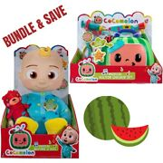 🎁new Cocomelon Toys - Plush Bedtime Doll + Musical Checkup Kit