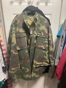 Yeezy Season 4 Camouflage Jacket Mens Large Brand New W/ Tags And Receipt
