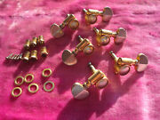 Vintage 1959 Gibson Pat Pend Gold Grover Rotomatic Tuners Les Paul Custom Es355