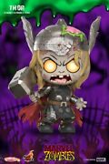 Hot Toys Cosb819 Zombies Avengers Thor Cosbabys Bobble-head Pvc Figure