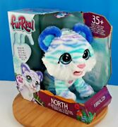 Furreal Friends North The Sabertooth Kitty Interactive Pet 35+ Sound And Reactions