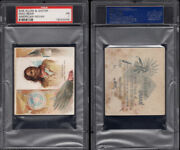 1888 N36 Allen And Ginter American Indian Chiefs Mad Bear Psa 1   / 4001