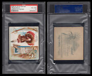 1888 N36 Allen And Ginter American Indian Chiefs True Eagle Psa 4 /4017