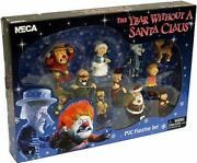 Media Play The Year Without A Santa Claus 11 Pvc Figure Set - New In Box