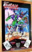 Wildcats Animated Series Poster Jim Lee Travis Charest San Diego Comic Con