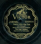 78tk-dance-victor 22046-high Hatters-takes You/daddy Won't You Please Come Home