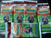 5x Topps Garbage Pail Kids Chrome 35th Anniversary Cello Value Pack Lot 3rd