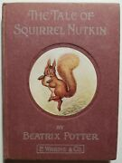 Beatrix Potter The Tale Of Squirrel Nutkin 1903 1st American Early Edition
