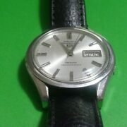 Seiko 5 Sportsmatic 7619-9010 Deluxe Vintage Watch 25-jewels Day Date Men's