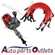 8mm Spark Plug Wires Block For Ford 289-302 Red Small Cap Hei Distributor