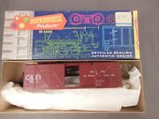 Ho Scale Roundhouse Candei 40and039 O/b Box Car