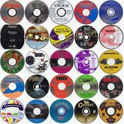 Choose 24 From 125 Game Titles Less Than 1.50 Ea W/free 24 Cd/dvd Wallet