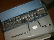 Vintage Giller Tool Company 32 Piece Tool Set With Metal Box - 1/4 And 3/8