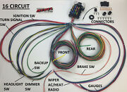 Rebel Wire   16 Circuit Muscle Car Wiring Harness