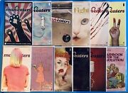 Man-eaters 1-12 Complete Series All 1st Print Nm+ Variant B Covers And 12c
