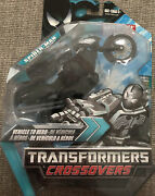 Marvel Transformers Crossovers Black Costume Spider-man To Motorcycle Rare