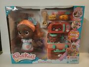 Kindi Kids Summer Peaches Fun Oven Doll And 5 Exclusive Shopkins Playset New