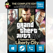Grand Theft Auto Iv The Complete Edition 4 Gta For Pc Game Steam Key Region Free