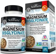 Magnesium Bisglycinate 100 Chelate No-laxative Effect. Maximum Absorption And ...
