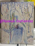 And039broken Heartand039 Originalandnbsp 16x20 Watercolor Stretched Canvas Painting.