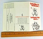 1972 Washington Natural Gas Tri-fold Outdoor Gas Bbq Grill Promotional Brochure
