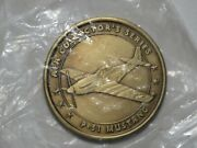 P-51 Mustang Challenge Coin - Afa Collectorand039s Series - Air Force Medal