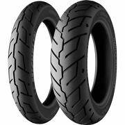 130/90b 16, 180/70b 16 Michelin Scorcher 32 Front And Rear Tire Kit - 2 Tires