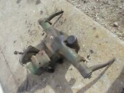 John Deere M Tractor Jd Main Rear Hitch Hydraulic Lift Assembly Valve Box And Arms