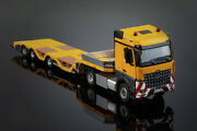 For Mercedes-benz 4x2 For Nooteboom Trailer Tractor 1/50 Diecast Model Car Truck
