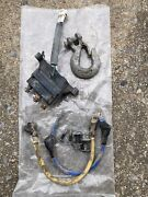 Used Polaris Oem Atv Winch Wire Harness Contactor And Hook 2015 Sportsman 20141223