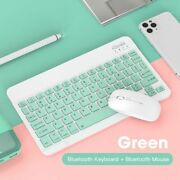 Mini Bluetooth Keyboard Mouse For Ipad Xiaomi Samsung Tablet Wireless Combos Set